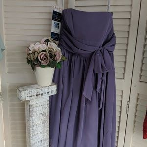 NEW Alfred Angelo Purple Dress